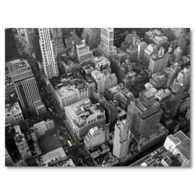 Αφίσα (νέος, Υόρκη, δρόμοι, μαύρο, λευκό, άσπρο)